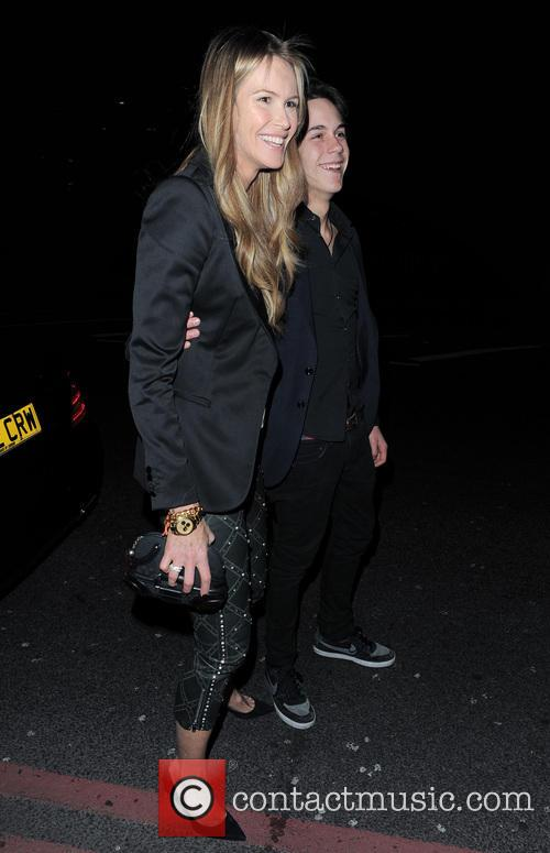 Elle Macpherson and Arpad Busson 4