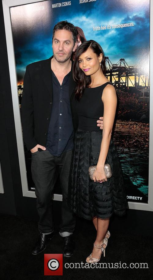 Thandie Newton and Ol Parker 8