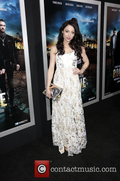 leah gibson los angeles premiere of rogue 3577768