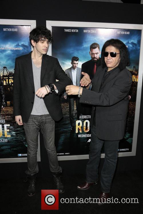 Nick Simmons and Gene Simmons 2