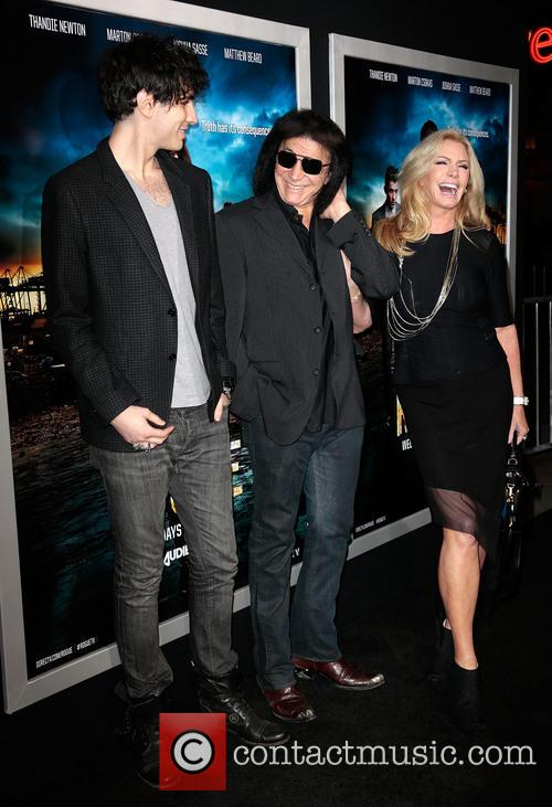 Nick Simmons, Gene Simmons and And Wife Shannon Tweed 5