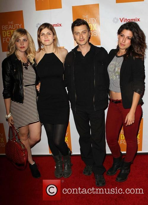 alexandra daddario tania raymonde guests book launch party for 3577570