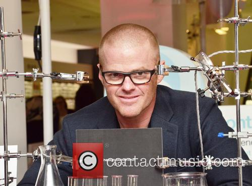 Heston Blumenthal and Heston Bluementhal 6