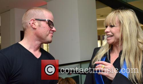 Heston Bluementhal and Jo Wood 1