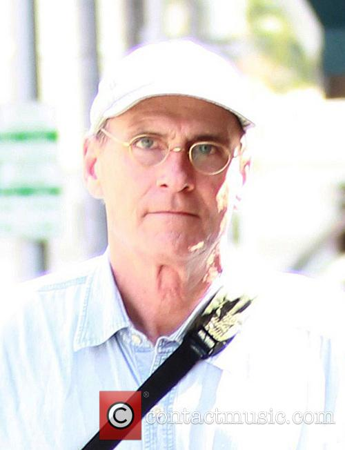 James Taylor out in Beverly Hills