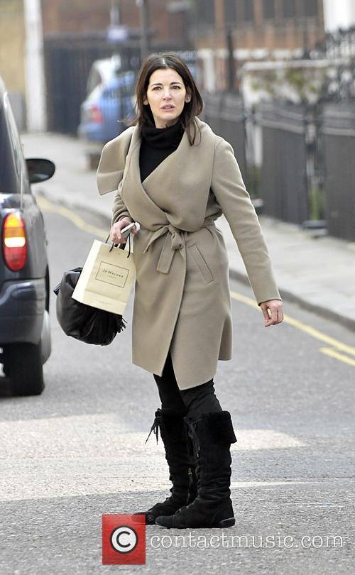 EXCLUSIVE Nigella Lawson arrives at Scott's