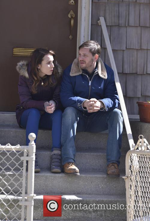 Tom Hardy and Noomi Rapace 5