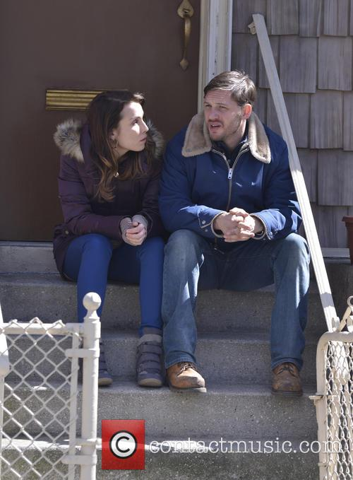 Tom Hardy and Noomi Rapace 12