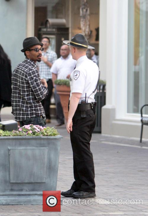 Celebrities seen shopping at the grove in Hollywood
