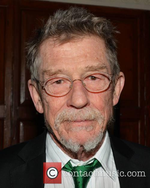 John Hurt receives the Gold Medal of Honorary...
