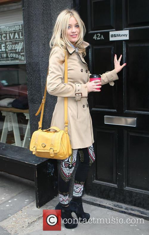 Laura Whitmore is seen out and about in...