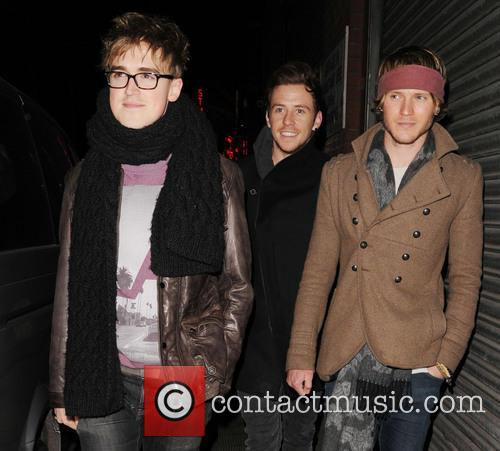 Tom Fletcher, Harry Judd and Dougie Poynter 4
