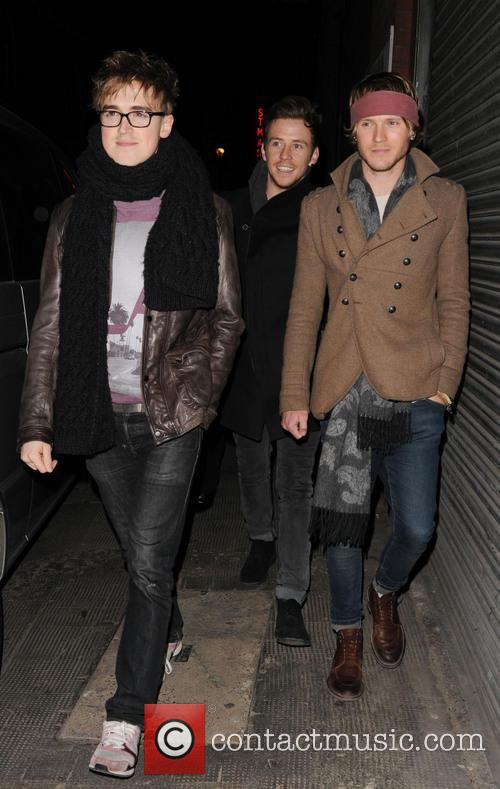 Tom Fletcher, Harry Judd and Dougie Poynter 6