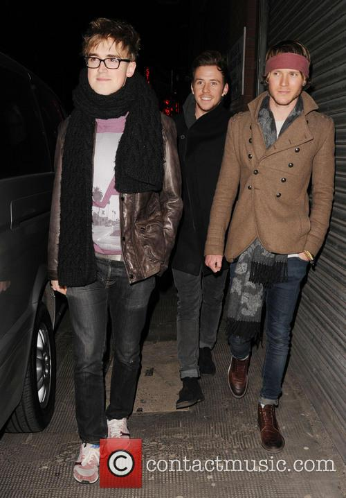 Tom Fletcher, Harry Judd and Dougie Poynter 7