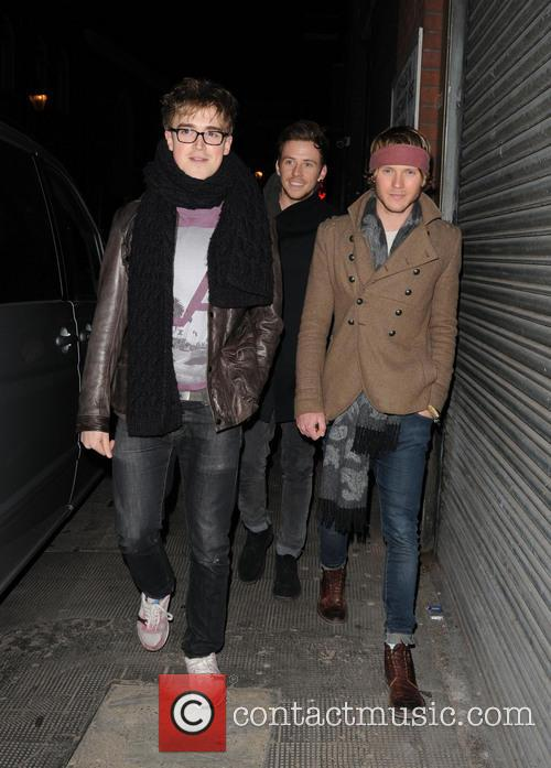 Tom Fletcher, Harry Judd and Dougie Poynter 11