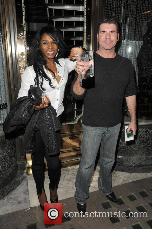 Simon Cowell and Sinitta 2