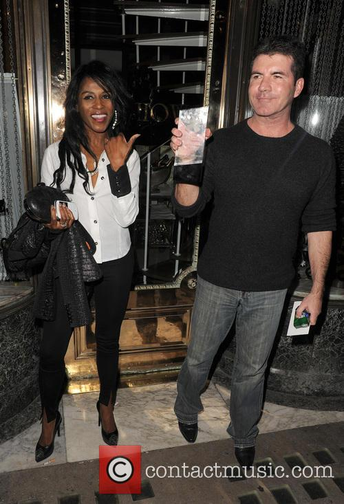 Simon Cowell and Sinitta 3