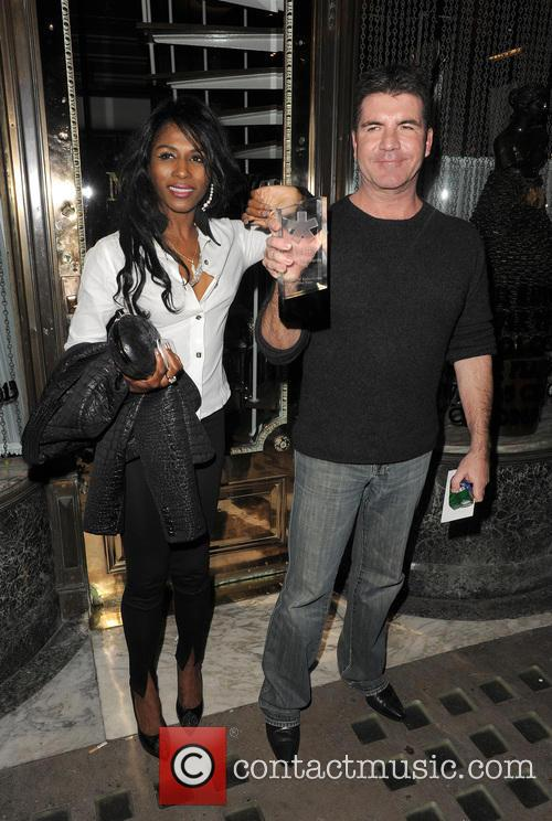 Simon Cowell and Sinitta 5