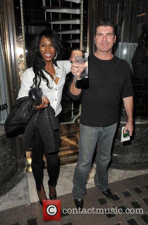 Simon Cowell and Sinitta 6
