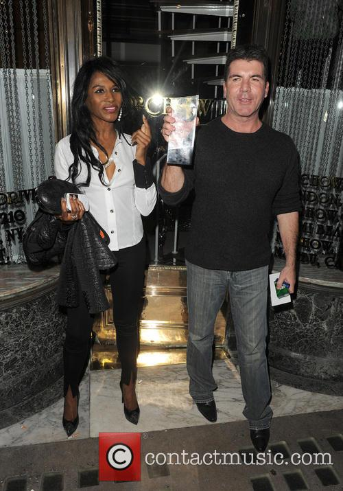 Simon Cowell and Sinitta 7