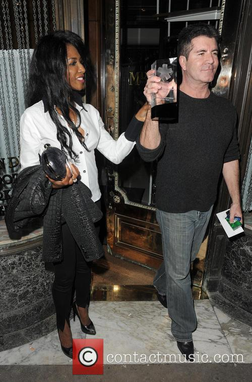 Simon Cowell and Sinitta 8