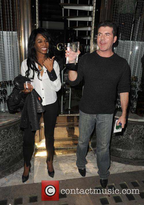 Simon Cowell and Sinitta 9