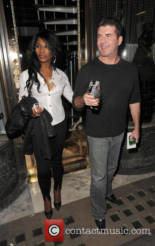 Simon Cowell and Sinitta 11