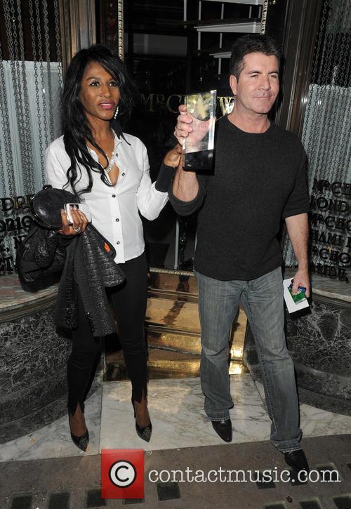 Simon Cowell and Sinitta 12