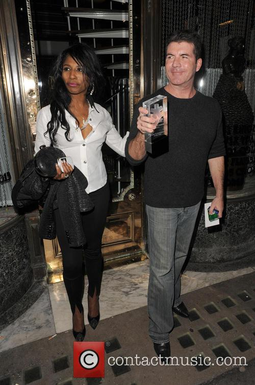 Simon Cowell and Sinitta 1