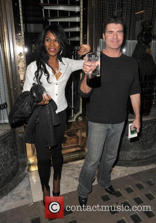 Simon Cowell and Sinitta 17