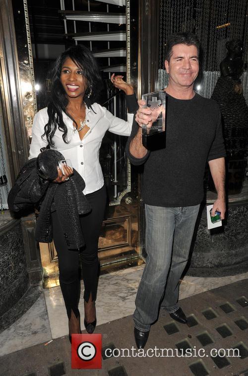 Simon Cowell and Sinitta 21