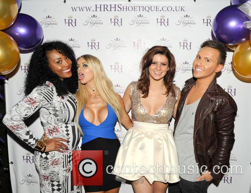Big Brother, Charlene Hart, Lauren Foord (hrh), Tommy Gray (the Audience, Towie and Bbc3's Unzipped) 3