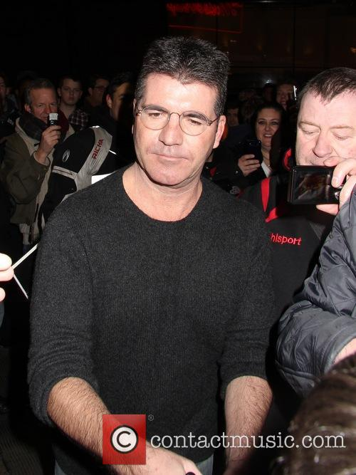 Simon Cowell At The Mousetrap