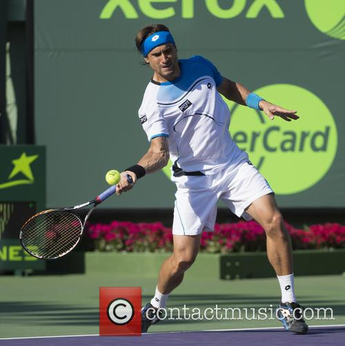 Sony and David Ferrer 2