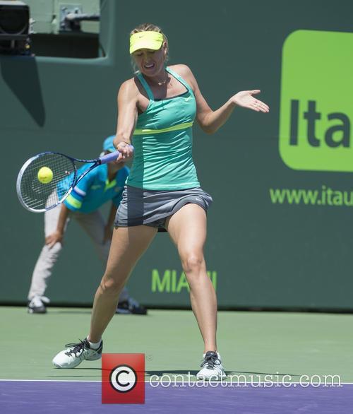Sharapova Wins At Sony Open