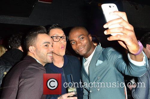 Guest, Gok Wan and Anthony 'bb' Kaye 3
