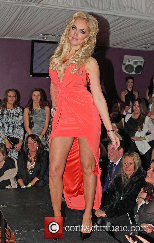 aisleyne horgan wallace charity fashion show for 3579729