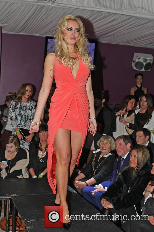 aisleyne horgan wallace charity fashion show for 3579732