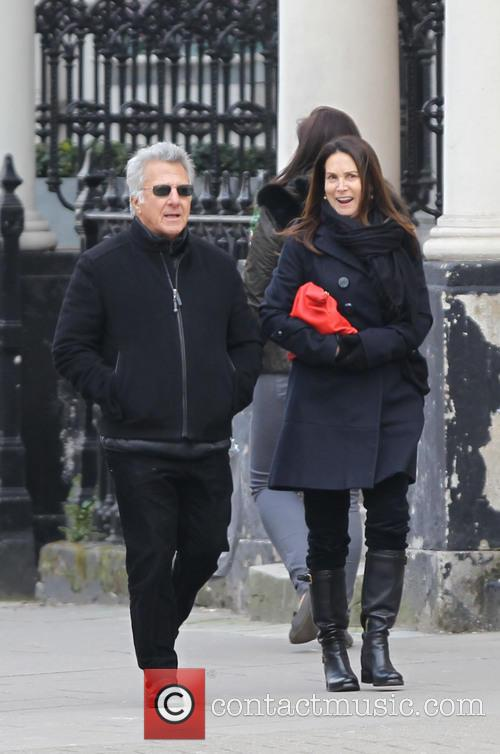 Dustin Hoffman and Lisa Hoffman 1