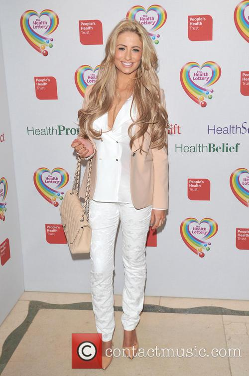 chantelle houghton the health lottery reception with 3579284
