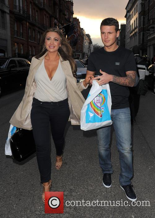Lauren Goodger and Boyfriend Jake Mclean 11