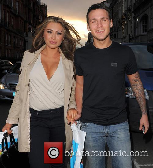 Lauren Goodger and Boyfriend Jake Mclean 1
