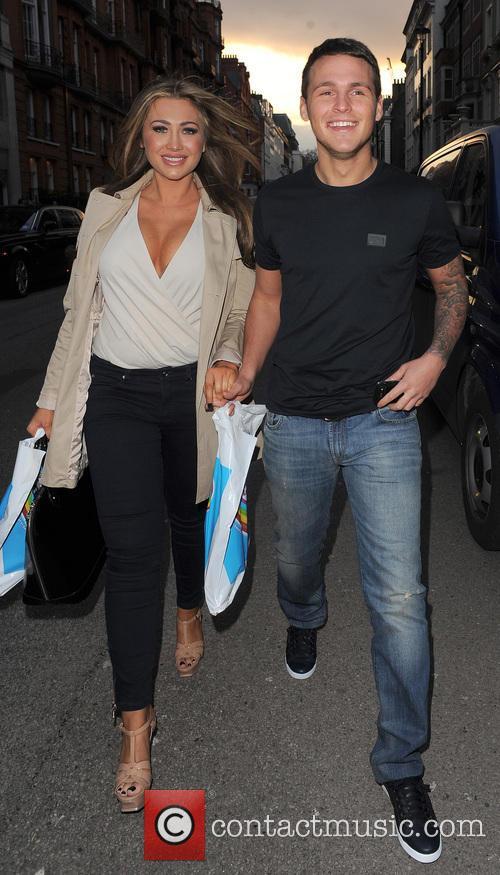 Lauren Goodger and boyfriend Jake McLean 14