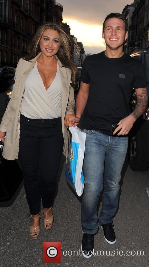 Lauren Goodger and boyfriend Jake McLean 15