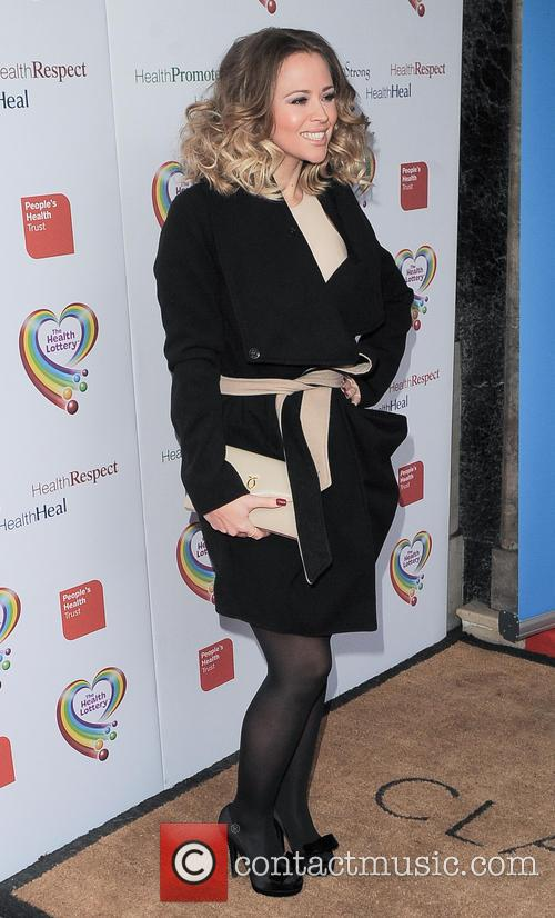 kimberley walsh the health lottery reception with 3579976