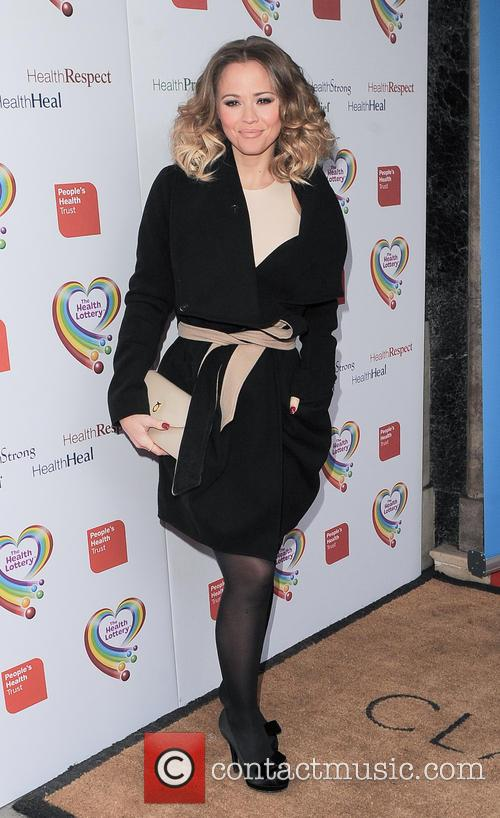 kimberley walsh the health lottery reception with 3579988
