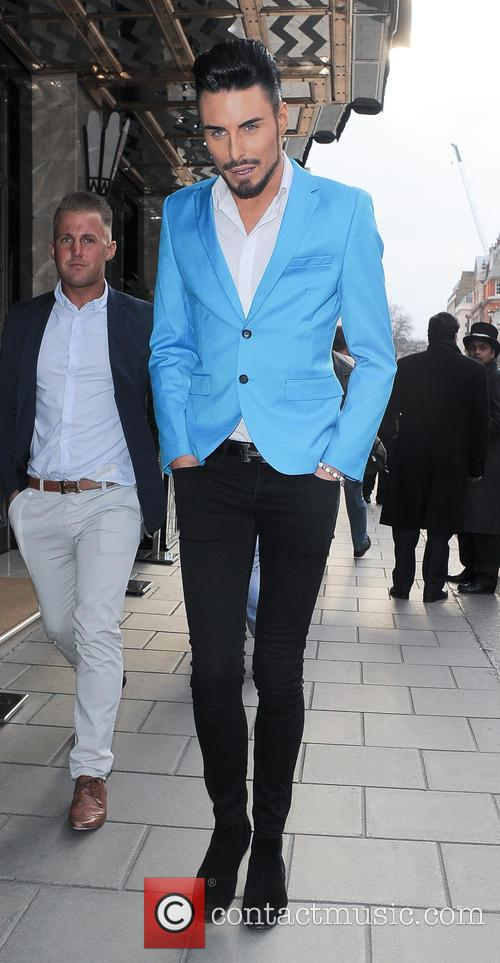 rylan clark the health lottery reception with 3579979