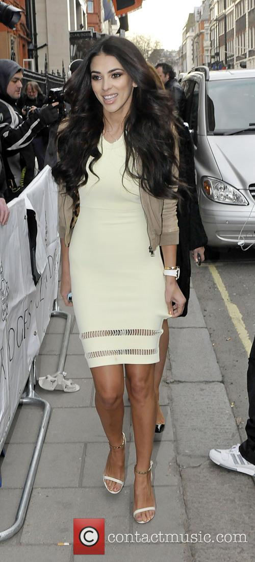 The Health Lottery reception with Simon Cowell held at Claridge's - Outside Arrivals