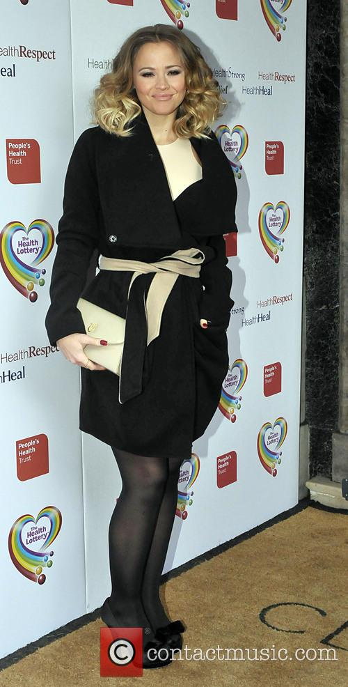 kimberley walsh the health lottery reception with 3579516
