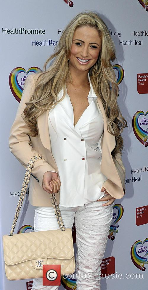 chantelle houghton the health lottery reception 3579465